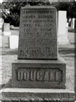 James Dougall Headstone