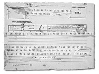 Telegram from William Mulock