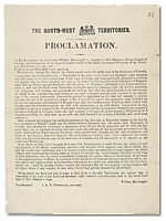 North-West Territories Proclamation