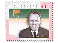 Stamp featuring Douglas