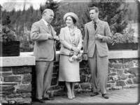 Mackenzie King with<br />King George VI &amp; Queen Elizabeth
