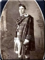 George in Highland Dress