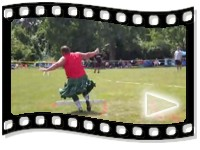 Highland Games: Weight Throw for Distance