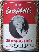 """Cream-a-tory Soup"""