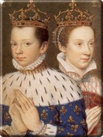 King Frances II and his wife Mary Stuart