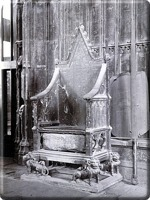 Coronation Chair with Stone of Destiny