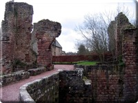 Remains of Roslin Castle