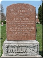 William & Elizabeth Tombstone