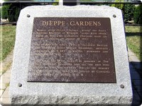 Dieppe Memorial Plaque
