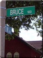 Bruce Ave.