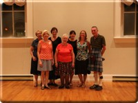The Royal Scottish Country Dance Society, Windsor branch, executives